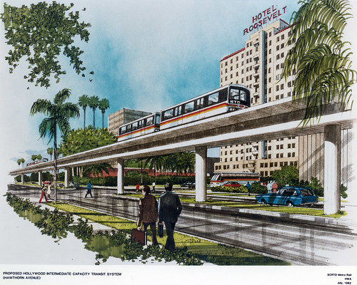 Proposed Hollywood Intermediate Capacity Transit System | by Metro Transportation Library and Archive