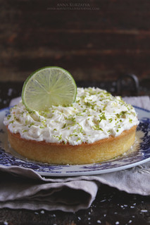 Coconut Lime Cake With Rum Frosting | by anna kurzaeva