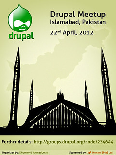 Drupal Meetup, Islamabad Pakistan on 22nd April, 2012 | by umair.ahmad