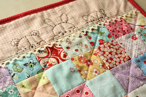 sleepy time pals scrappy | by Erin @ Why Not Sew? Quilts