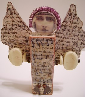 Assemblage Angel Doll | by cindyiscrafty