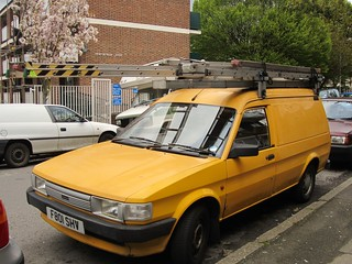 1989 Austin Maestro 500 City Van. | by bramm77