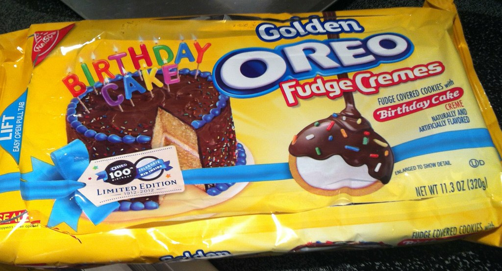Limited Edition Birthday Cake Golden Oreo Fudge Cremes Flickr