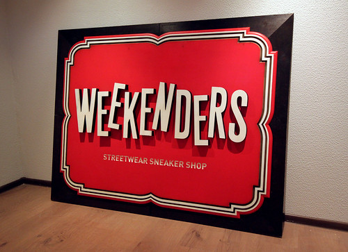Weekenders sign | by Misha Karagezyan