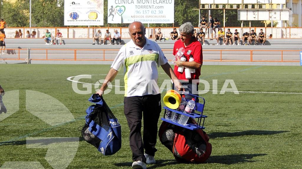 TorrentCF-CDAlmoradi 1-1, vuelta 1ªeliminatoria ascenso a 3ª (Ra)