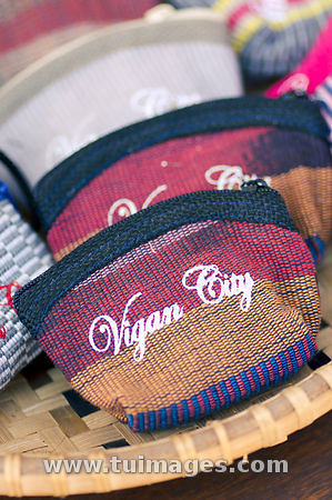 Woven Handicraft In Vigan City Philippines Close Up Shot Flickr