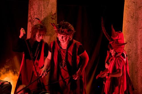 Bruscello Storico 2008 - Dante all'Inferno