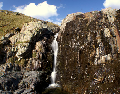 Waterfall on the Dunmail Raise | by camm33