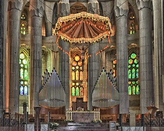 Sagrada Familia cathedral re-worked | by Carol (Nona)