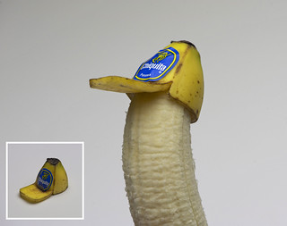 Banana Peel Trucker Hat (For Bananas) | by Laser Bread