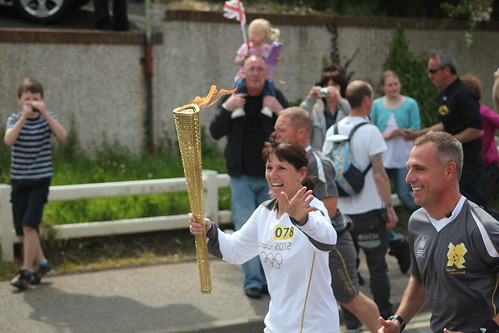78/365. Olympic relay, St Stephen. | by Anita Hunt