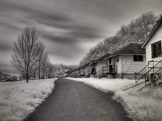 camp sussex B&W HDR | by Chip Renner