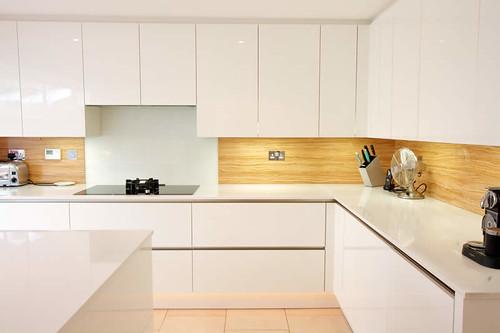 Image Result For White Gloss Kitchen