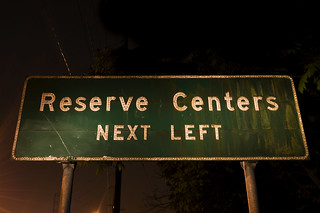 Reserve Centers Next Left | by Curtis Gregory Perry