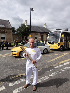 Olympic torch relay, Stirling | by cocopie
