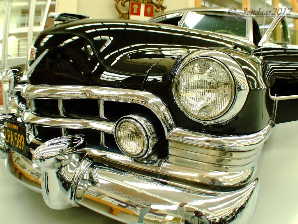 1950 S Gangster Cadillac Based On A 1950 Series 60s V8 Cad Flickr