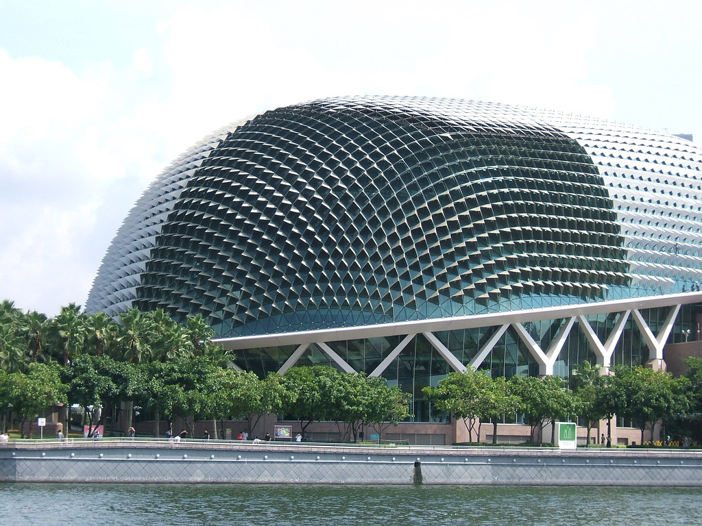 Big Durian- theatres on the Esplanade
