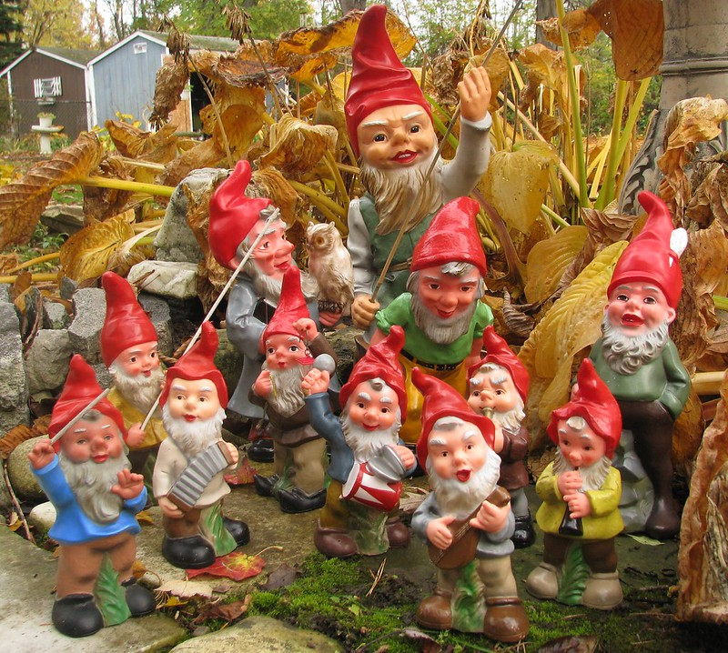 Heissner Gnomes From West Germany Flickr