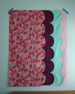 scallop quilt top | by Dashasel