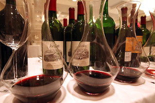 Jordan Cabernet Sauvignon retrospective tasting at the London Hotel in Los Angeles. | by jordanwinery.com