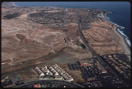 Aerial of land development between Laguna Beach and San Clemente, June 1975 | by The U.S. National Archives