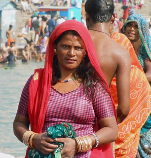 Woman at the ghat | by bokage