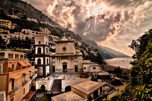 Church square, Positano | by Thanks for 1.8M views!