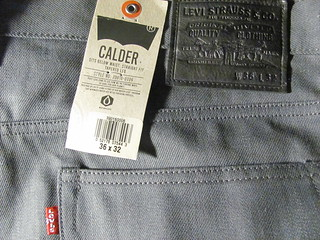 Levi's Calder Selvedge Jeans | by AsianImage