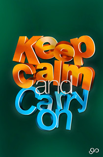 keep calm | by .PIERO.