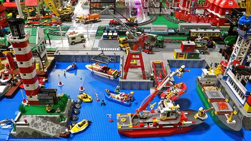 Lego city pr sent au salon de la maquette et du mod le for Salon de la maquette paris 2017