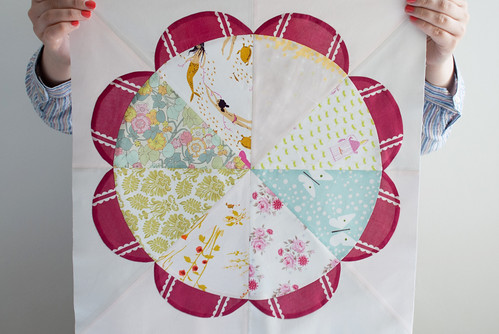 wildflower garden quilt: block #2 | by poppyandredclover