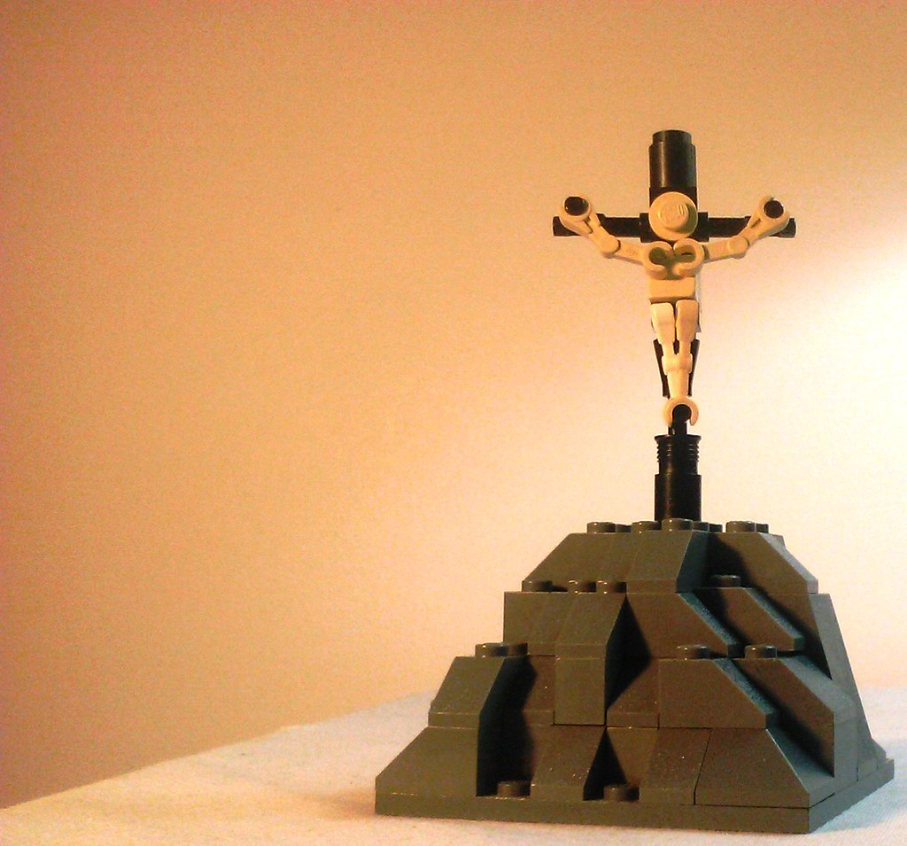 jesus on cross 3 for the eurobricks collectable lego minif u2026 flickr