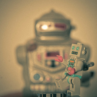 rock'n'roll robot | by thewhitestdogalive