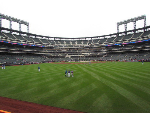 Center to Home at Not Shea Stadium -- Queens, May 5, 2012 | by baseballoogie