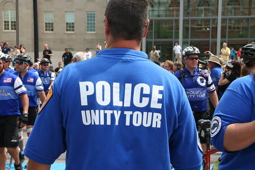 Police Unity Tour At Ibco Independent Brewing Company February