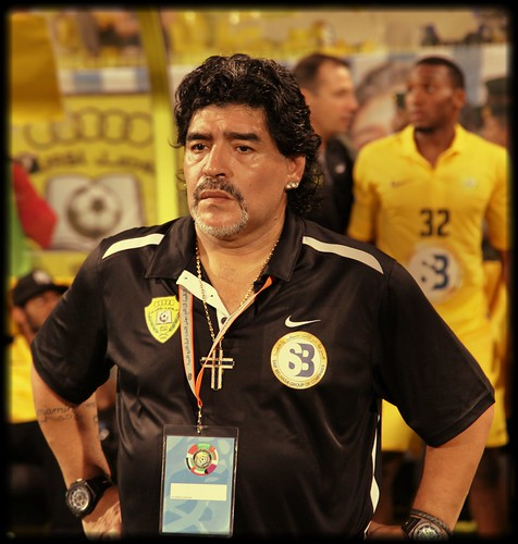 Diego Maradona Al Wasel 2012 | by The Fox of Arabian Peninsula