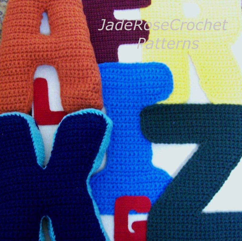 Letters Of The Alphabet Crochet Pattern Etsylisti Flickr