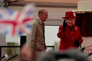 The Queen arrives in Greenwich | by Mikepaws