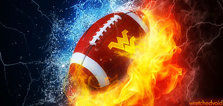WVU Football h2o Fire wide 2012 | by wretchedvoid
