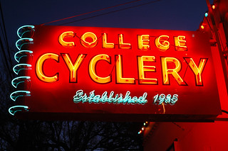 College Cyclery | by Happyshooter / Joe M