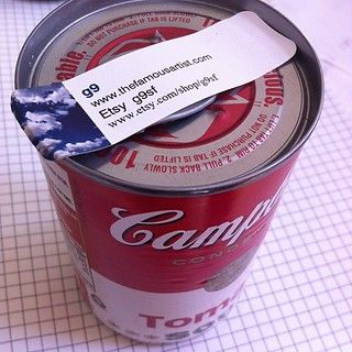 G9 left a can of soup on my doorstep!! | by fekaylius