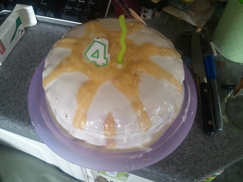 Courgette And Raisin Cake