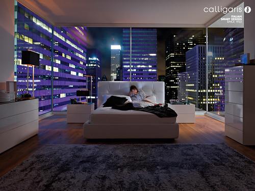 Bedroom set calligaris swami city nella foto letto ca flickr - Calligaris letto swami ...