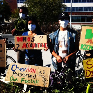#chevron fire poisoned our food #Richmond | by Steve Rhodes