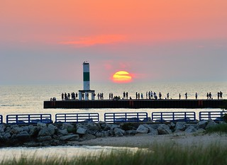 Holland Harbor Sunset - Holland, Michigan Breakwater Light | by Michigan Nut