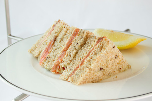 Smoked salmon sandwiches © La Vittone/ROH 2012 | by Royal Opera House Covent Garden