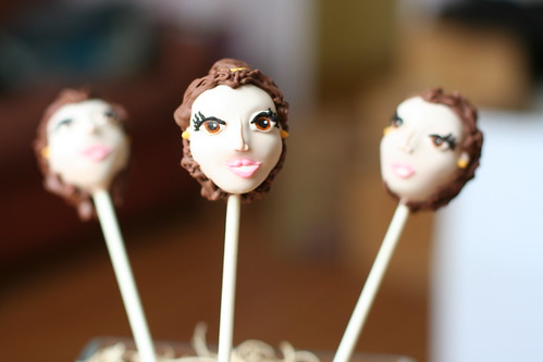 Belle Cake Pops | by Sweet Lauren Cakes