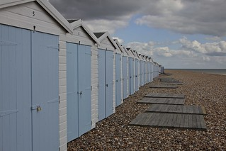 Beach huts | by rowl images