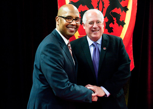 Gov Quinn Salutes Englewood Urban Prep's 100% College Bound Students | by GovernorQuinnflickr