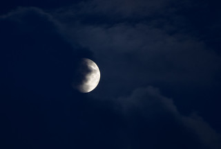 The Moon and clouds 1 July 2012 | by Sculptor Lil
